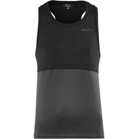 Craft Eaze Singlet Men Black/Black Melange